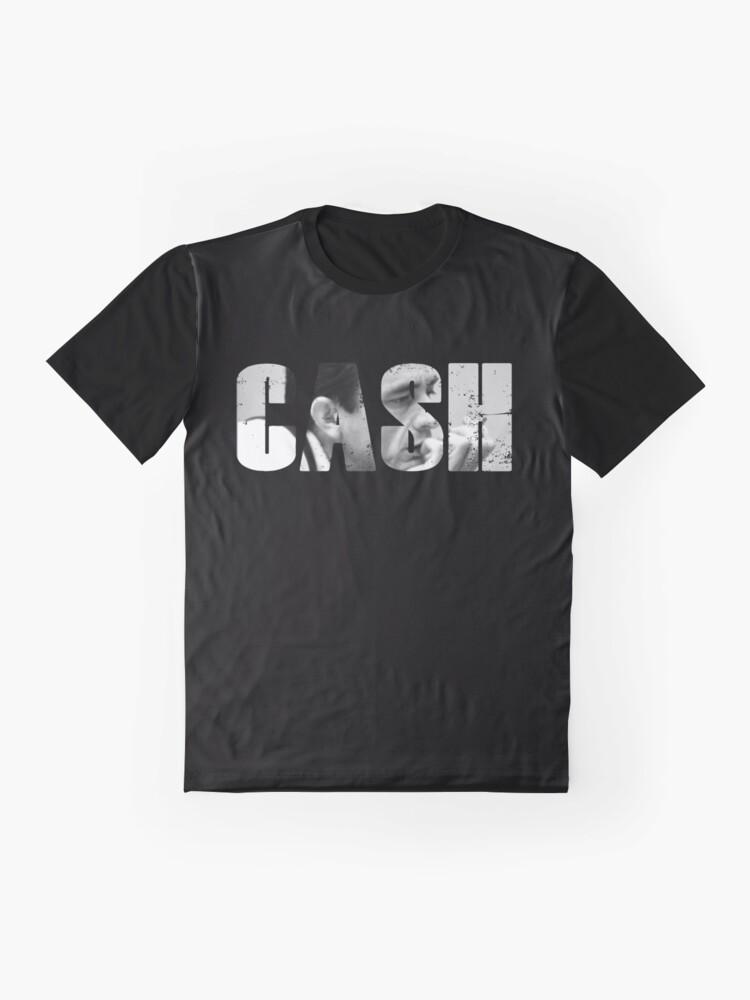 'Johnny Cash Rock n Roll Rockabilly' T-Shirt von RS-Customstylez
