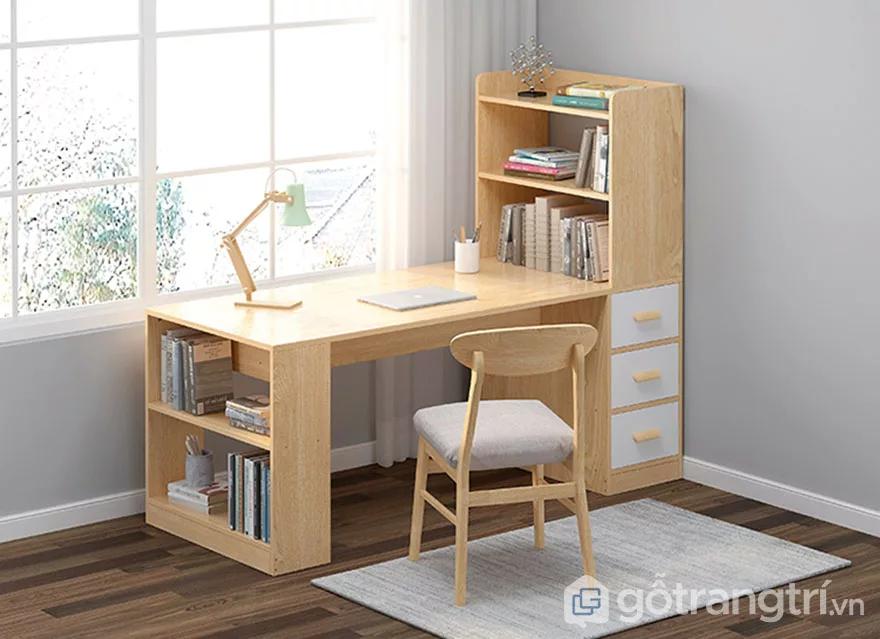 Bàn học bằng gỗ kiểu dáng nhỏ gọn GHS-4925