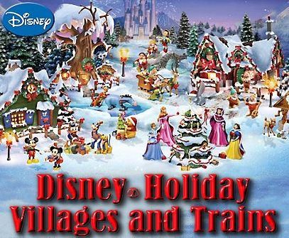 disney christmas village | Disney® Holiday Villages and Trains ...
