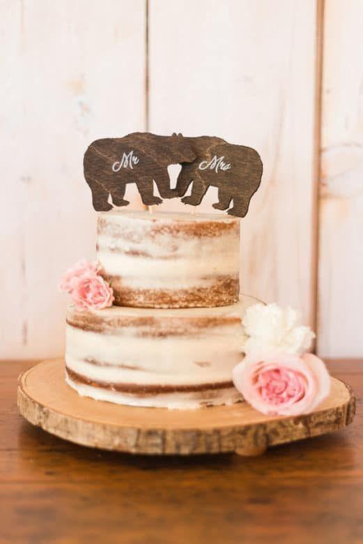 Ontario Barn Wedding Wedding Cake Rustic Wedding Cake Rustic