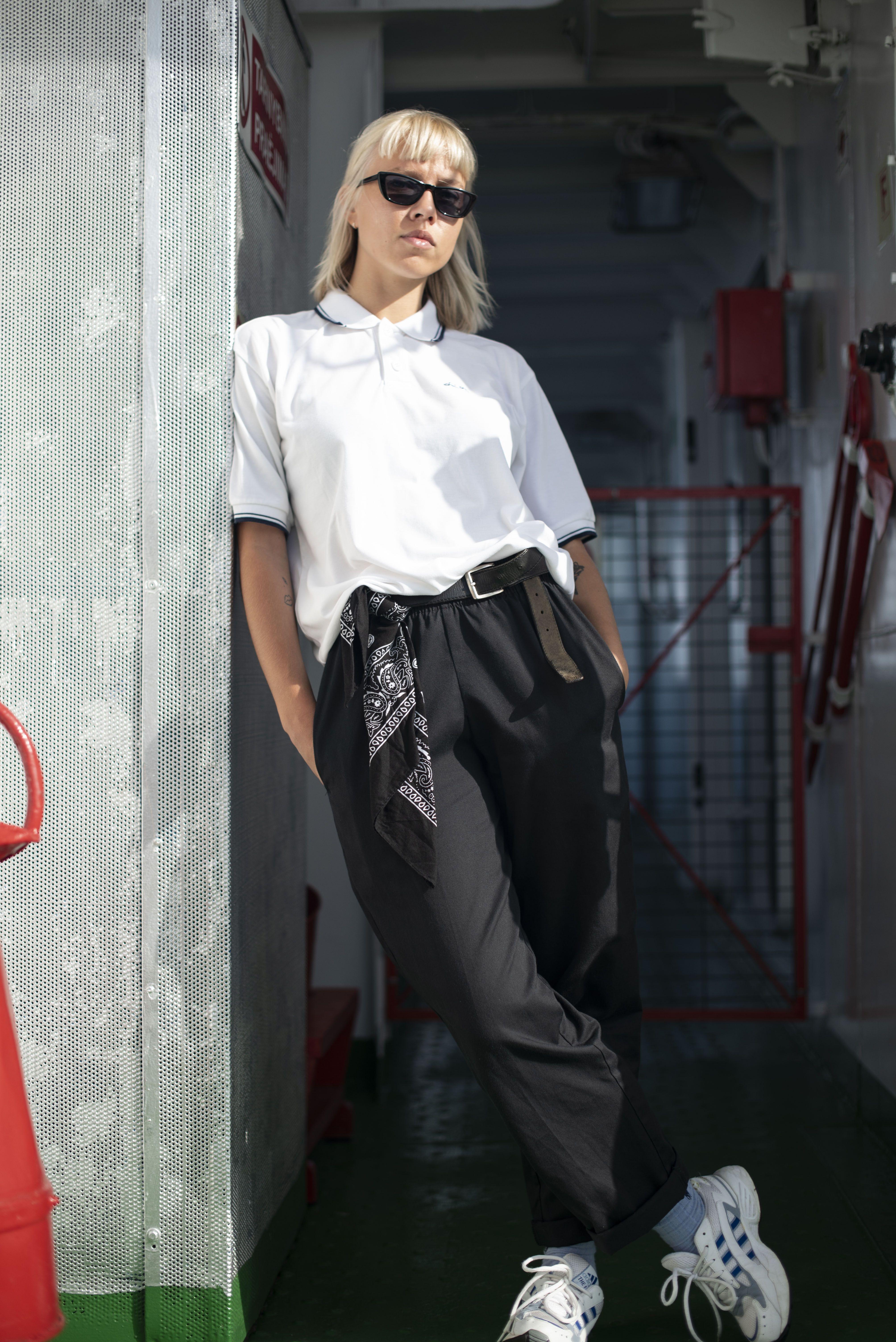 Kappa White Polo Shirt 90s Fashion Outfits Vintage Outfits Fashion Outfits