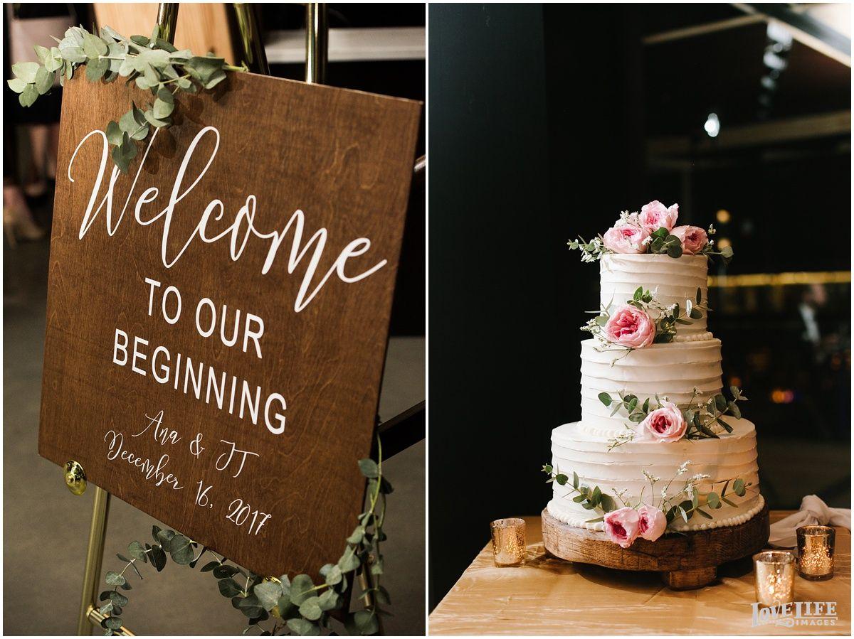 District winery wedding ana jt wedding rustic winter weddings