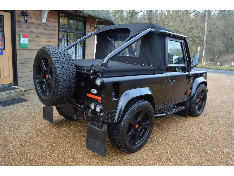 land rover defender 90 soft top roll cage - Google Search ...
