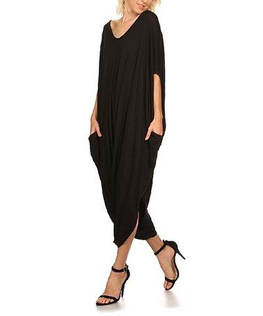 f9019ee549 Look what I found on  zulily! Black Harem Jumpsuit - Plus Too ...