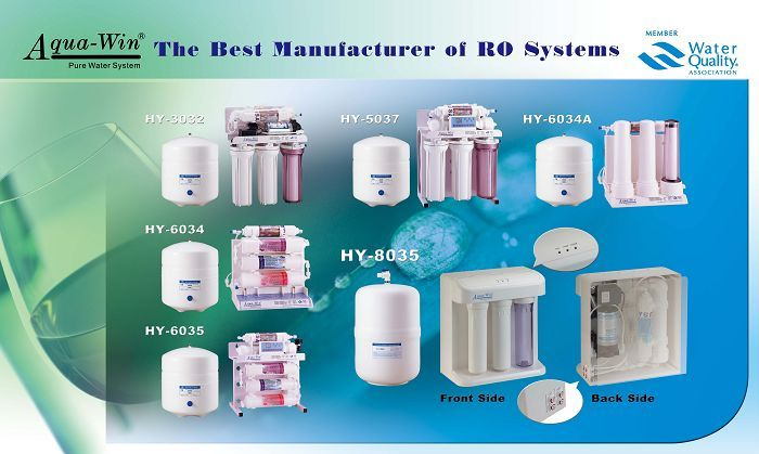Reverse osmosis explains the process of creating drinking water from salty, or otherwise contaminated water