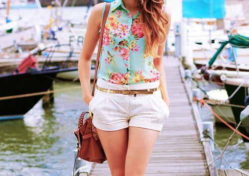 floral shirt <3