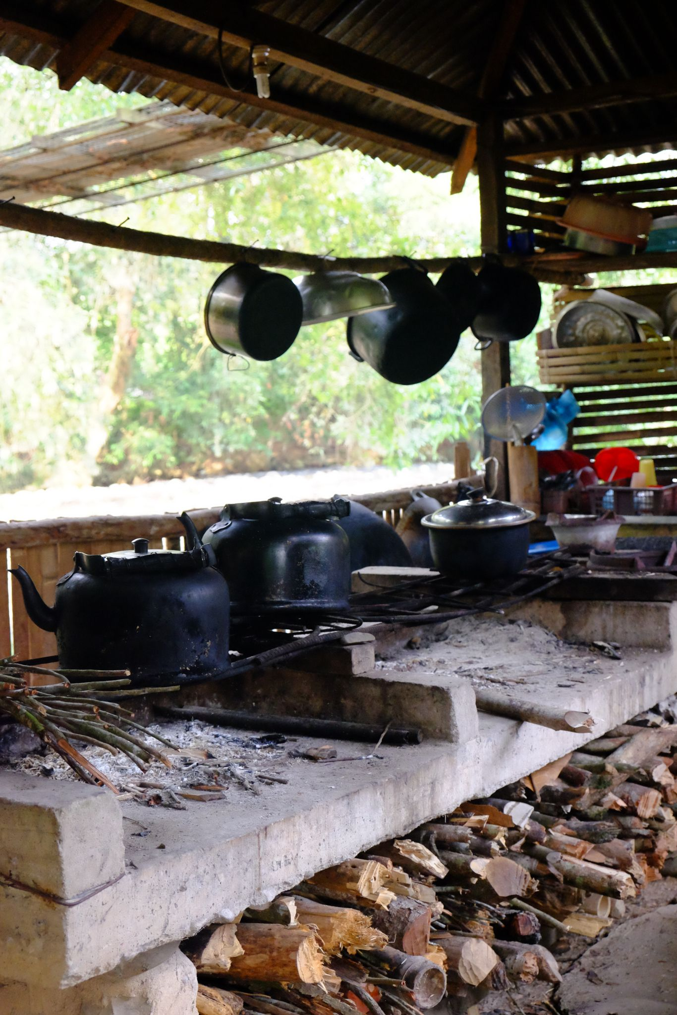 bahay kubo simple outdoor dirty kitchen design philippines