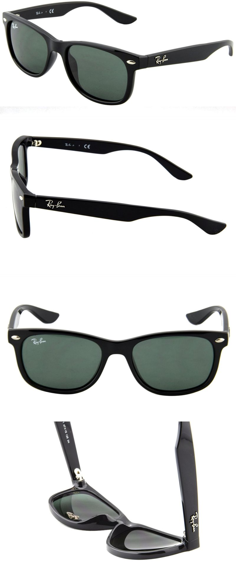 1ab71ea489 Sunglasses 131411  Ray-Ban Junior Rj9052s Square Sunglasses -  BUY IT NOW  ONLY