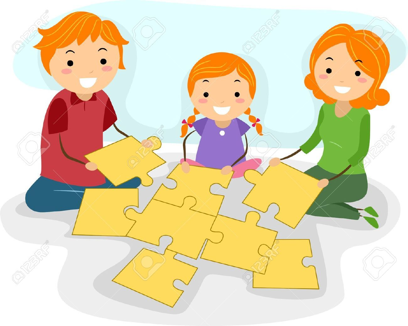 Puzzle Clipart Child Play 3