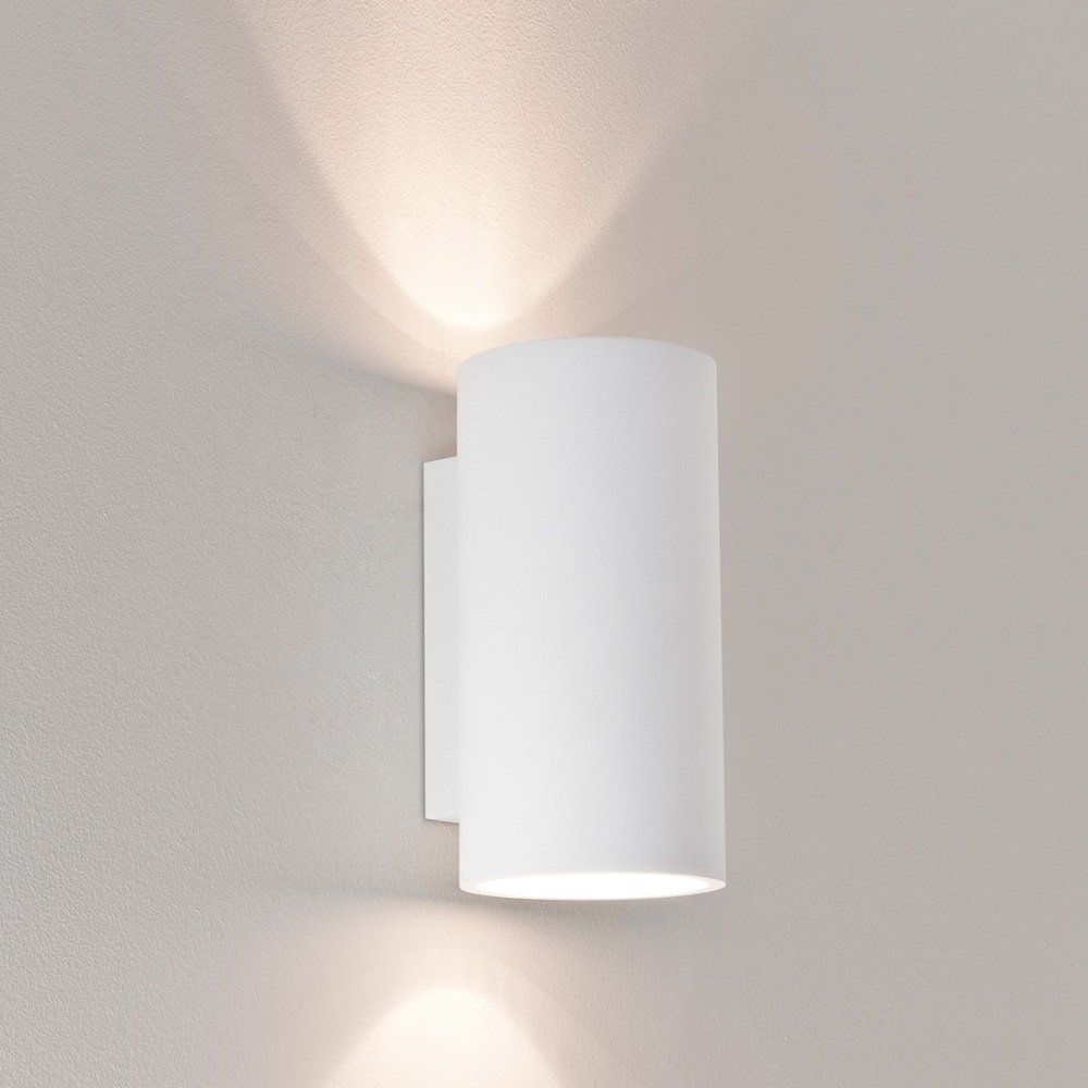 Wall lighting can easily function as art my design agenda astro lighting 7002 bologna 240 white plaster wall light astro lighting from lightplan uk aloadofball Choice Image