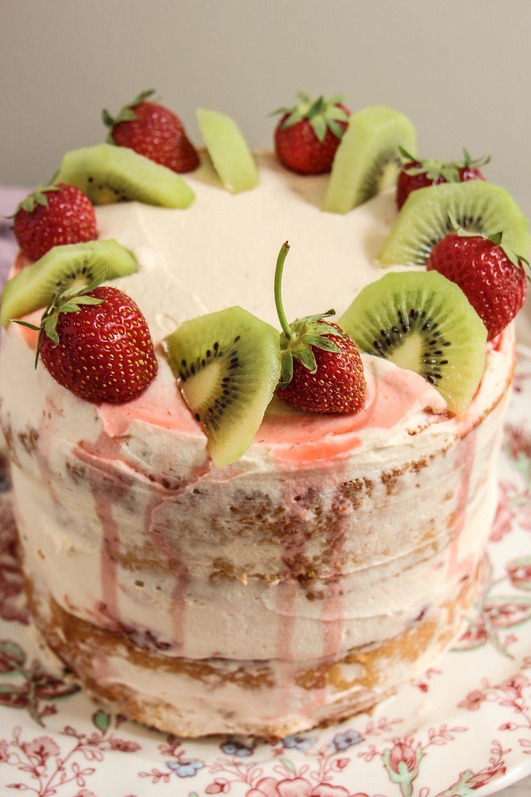 strawberry and kiwi cake recipe | recipes ### cakes | cake recipes
