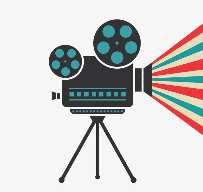 Creative Movie Projector Vector, The Film, Projector