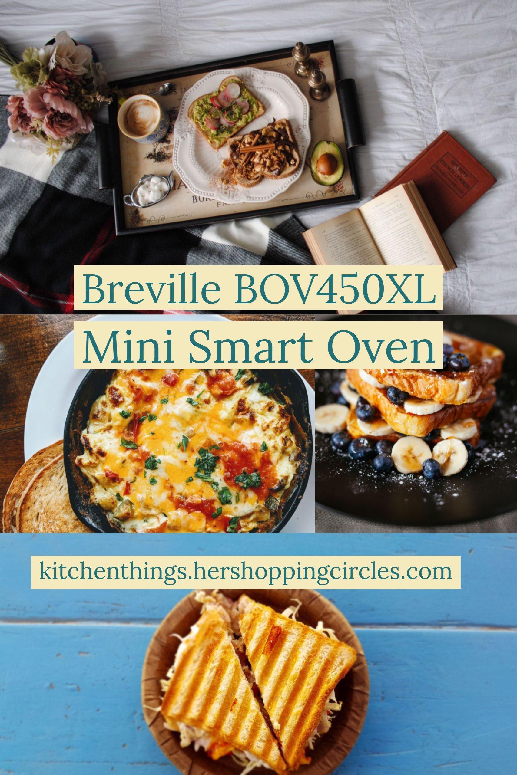 Breville Bov450xl Mini Smart Oven With Element Iq Smart Oven Countertop Oven Oven