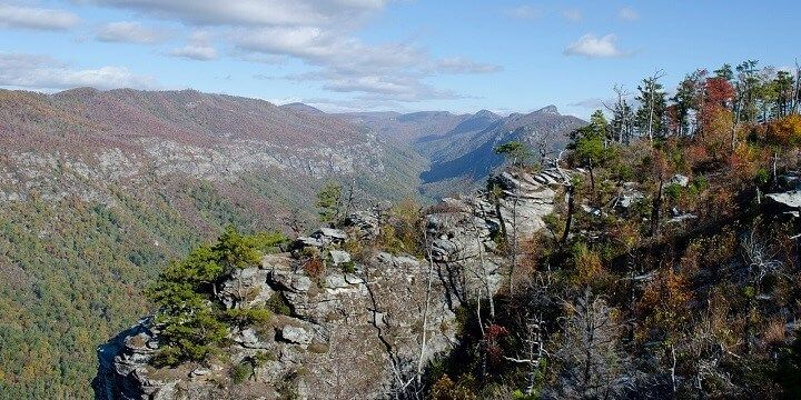 Linville Gorge, North Carolina, USA