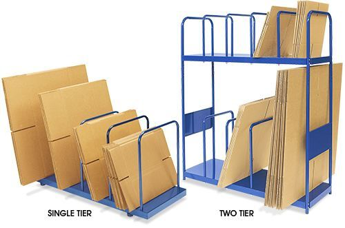 ULine Wire Carton Stand Dividers and Handle Kit