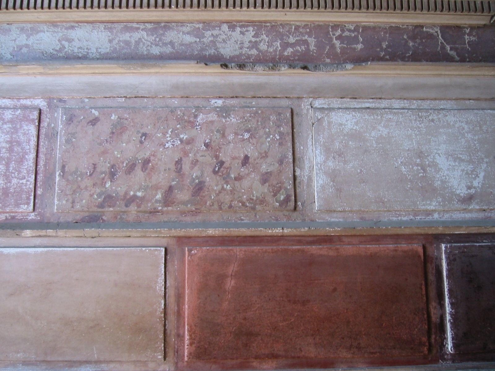 Wall painting styles - First Style Roman Painting Google Search