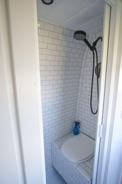 Van Conversion With Tile Bathroom Second Build 40 Hours