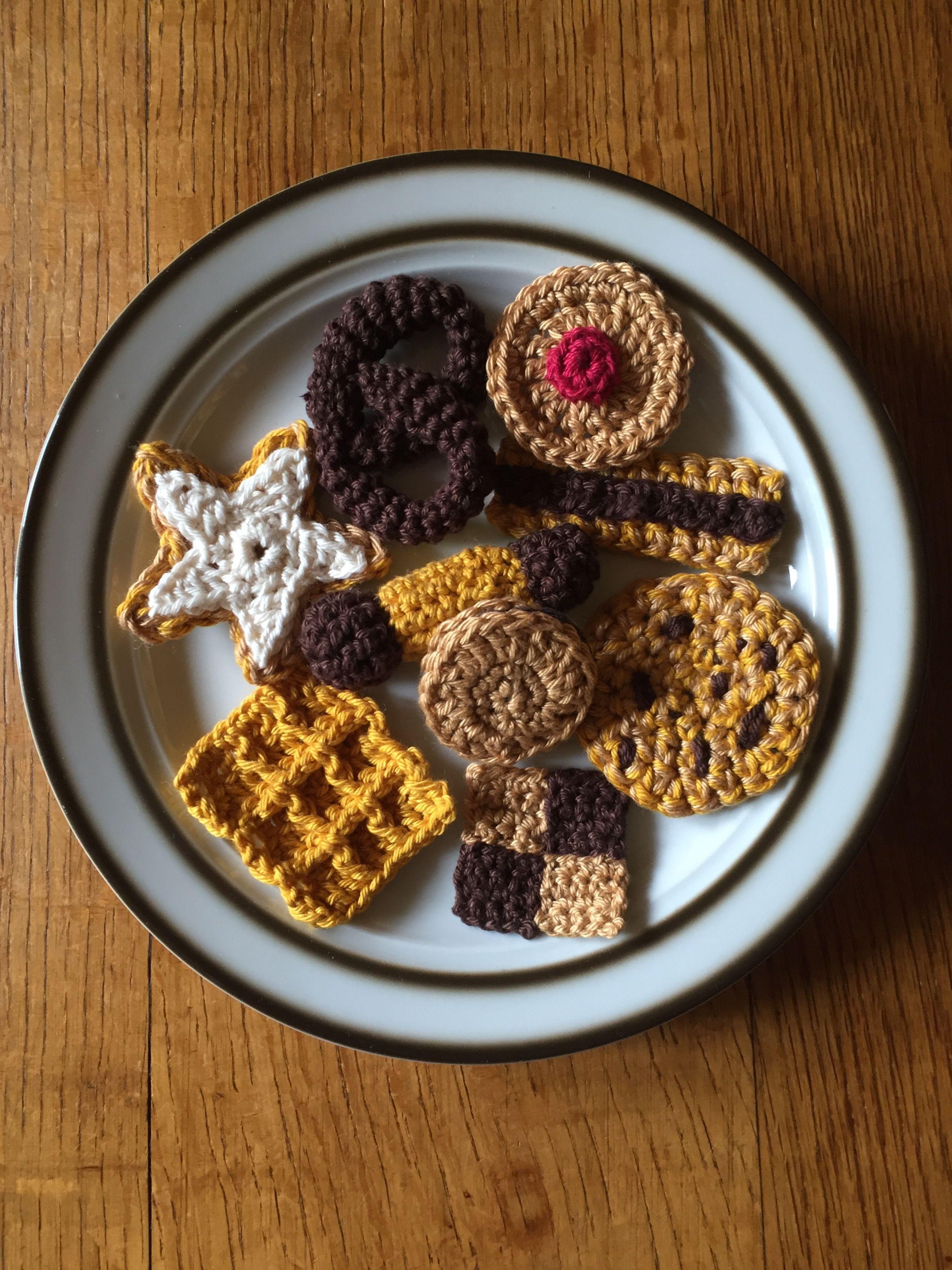 kekse f r emma h keln kekse kinderk che kaufladen yarn work. Black Bedroom Furniture Sets. Home Design Ideas