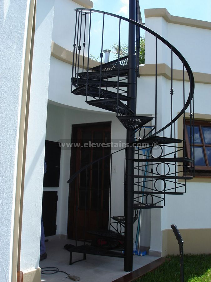 Wood Spiral Stairs Kits Visit rustic railing at http://awoodrailing.com