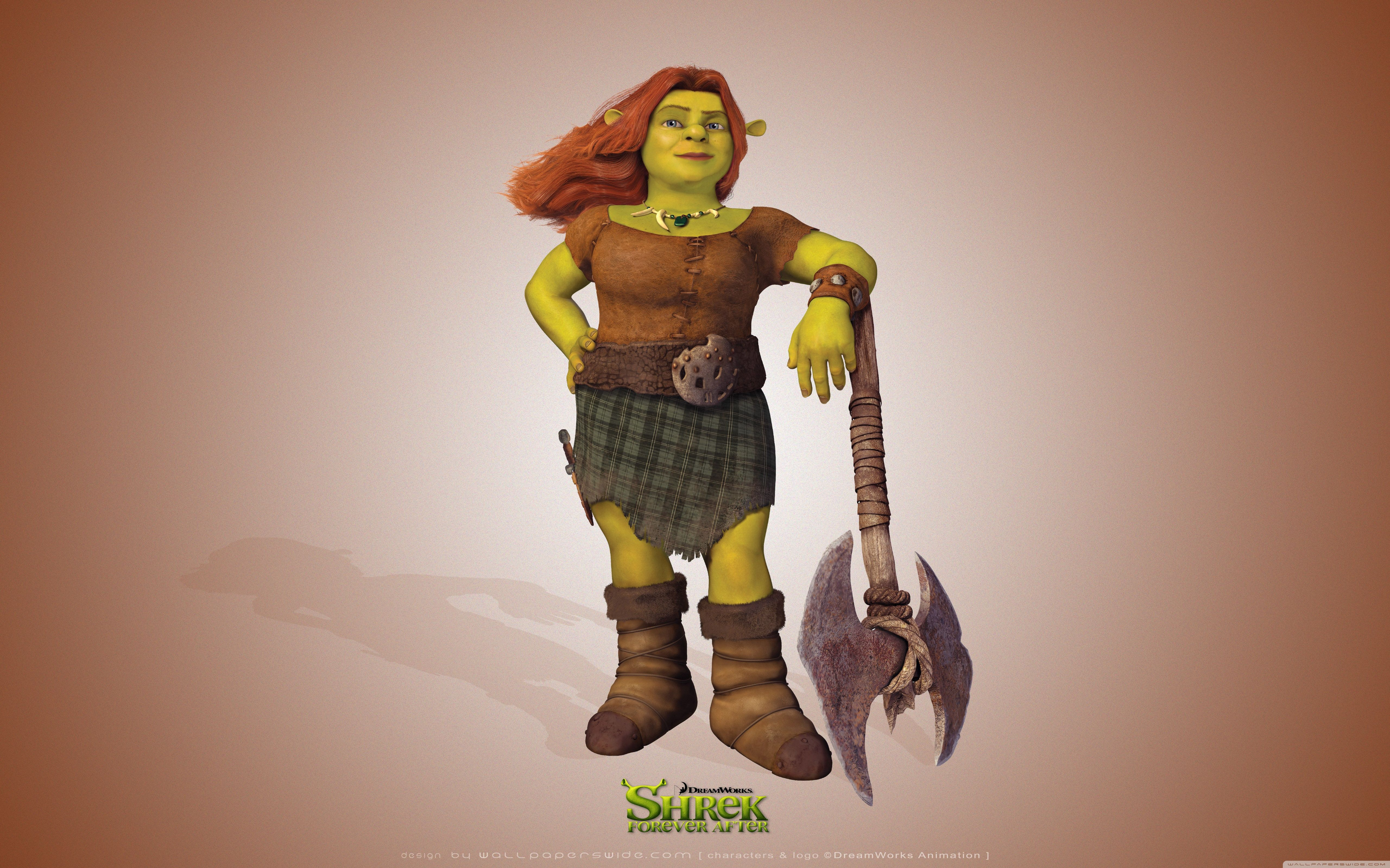 Shrek Donkey And Puss In Boots Forever After HD Desktop