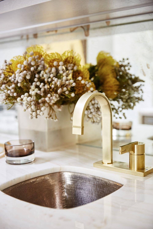 City Modern Den Gold Bar Sink Faucet Bar Sink Faucet Bar