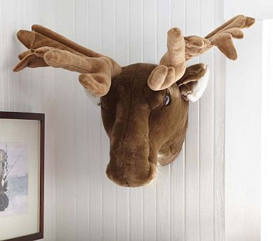 Moose Wall Decor Potterybarnkids Can I Impose My Love Of