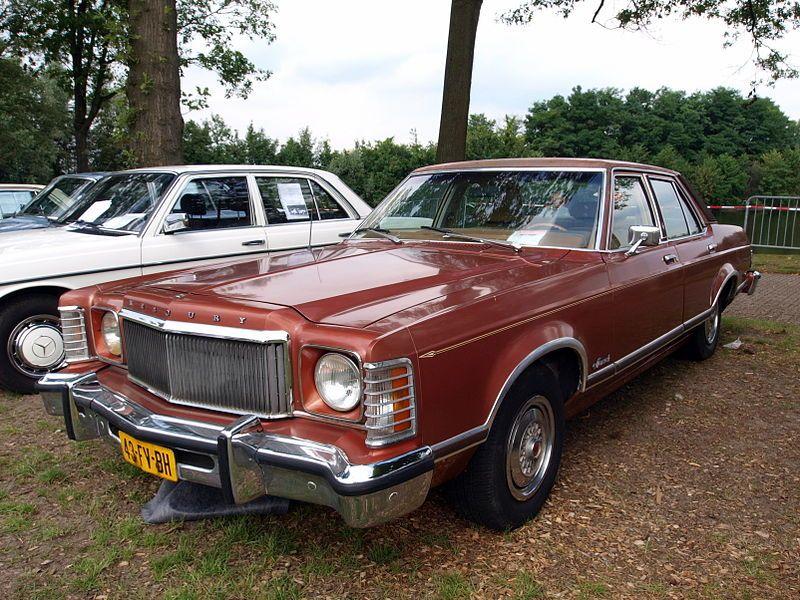 1975 Mercury Monarch Ghia Dutch Licence Registration 43 Fv Bh