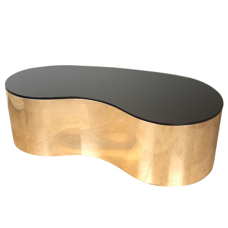 Free Form Coffee Table By Karl Springer Like Something You D See