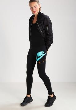 d27d8ee9f14b3 Nike Sportswear - Leggings - black/sunset/hyper jade | Net a porter ...