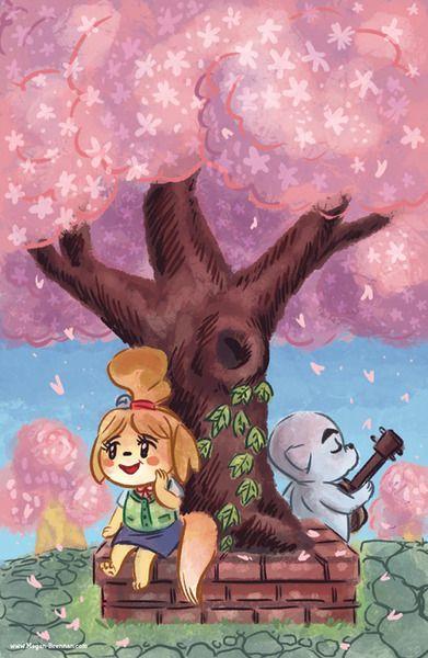 New Leaf Animal Crossing Fan Art Animal Crossing Characters Animal Crossing Qr