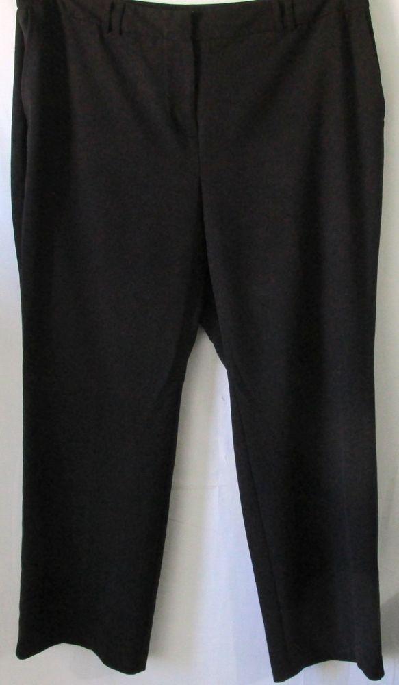 3c7717a2f43 Avenue Studio Plus Size Black Dress Pants or Trousers Size 20  Avenue   DressPants