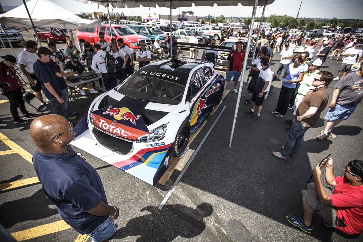 Loeb And The Peugeot 208 T16 Pikes Peak Get Their Wings With