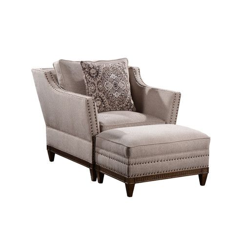 Accent Chair In Sketch Up: A.R.T. Empyrean Sky Arm Chair And Ottoman