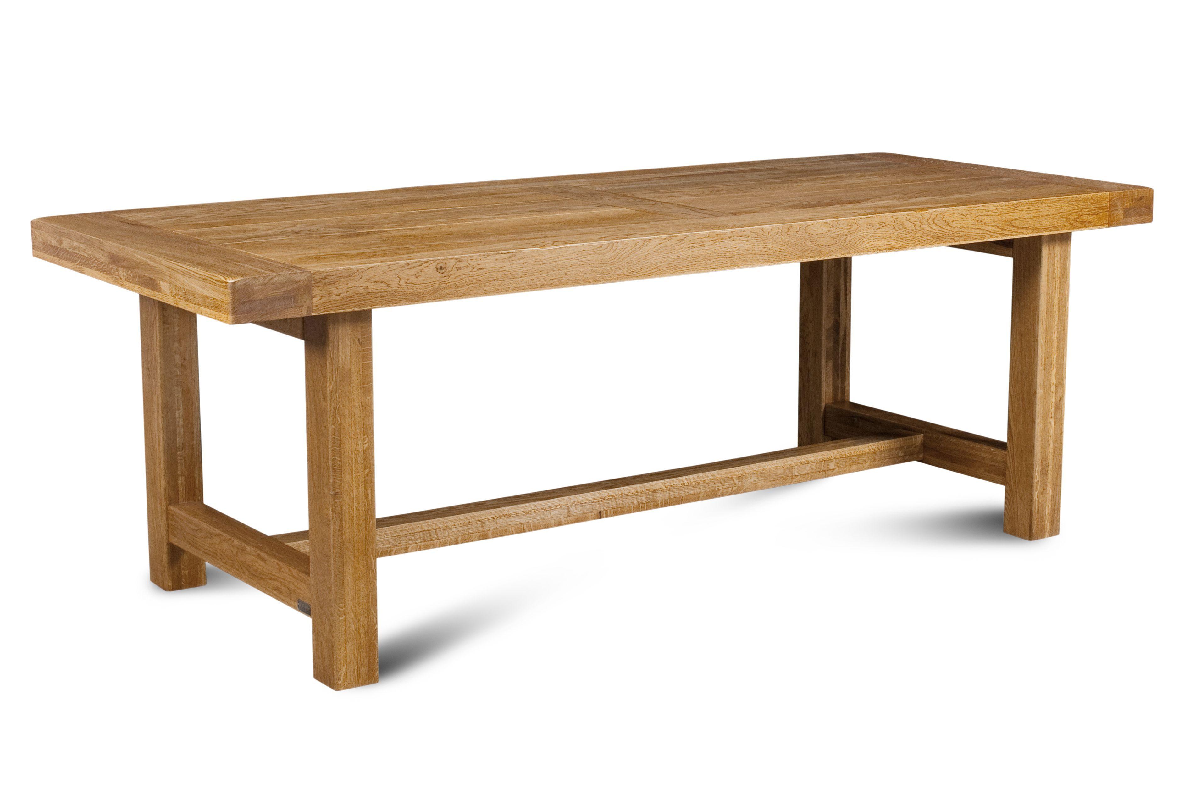 Table De Ferme En Chene Massif La Bresse 220 X 90 Hellin En 2020 Table De Ferme Fabrication Table Et Table En Chene