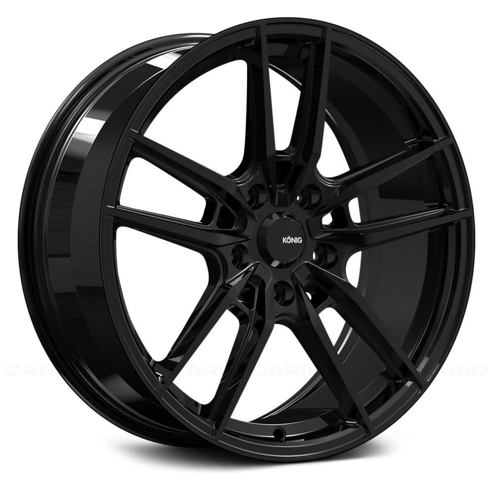 Konig Myth Gloss Black With Images Bolt Pattern Gloss