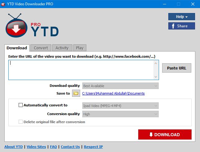 ytd youtube downloader pro download