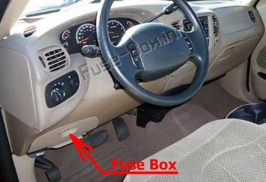 Fuse Box Diagram  U0026gt  Ford F