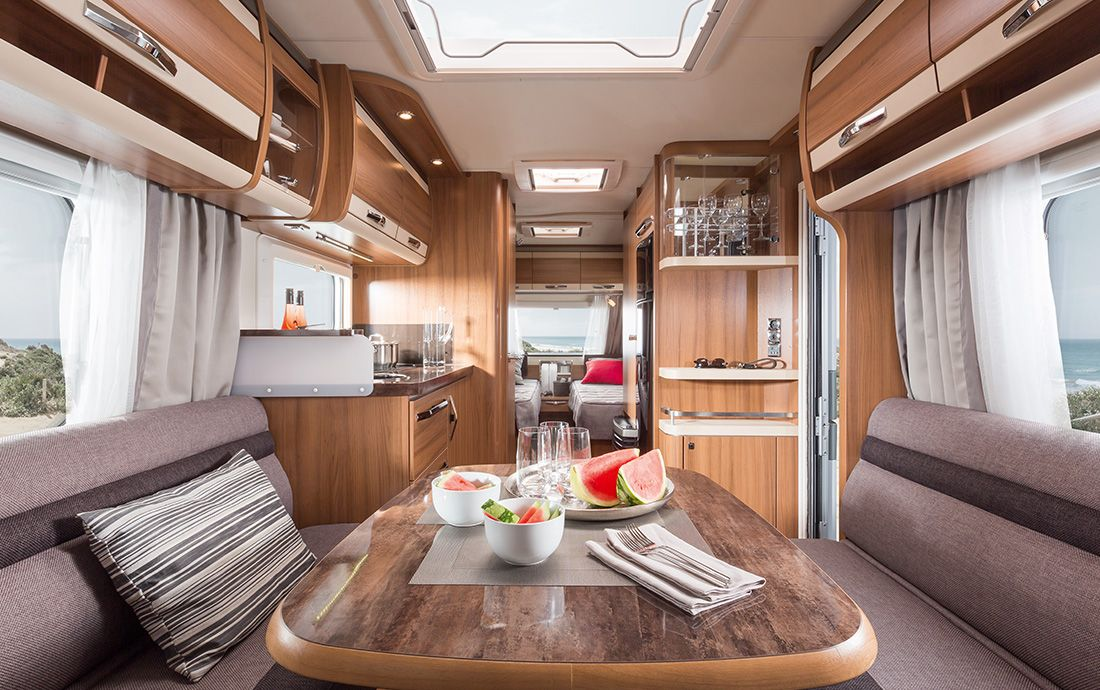 KNAUS SÜDWIND EXCLUSIVE   Caravan-Komfort vom Feinsten   Caravan ...