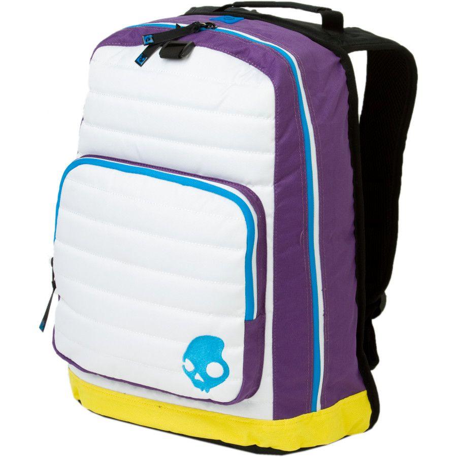 657a599ac4b skullcandy backpack cyan blue lime book bag new new arrivals 0268c ...