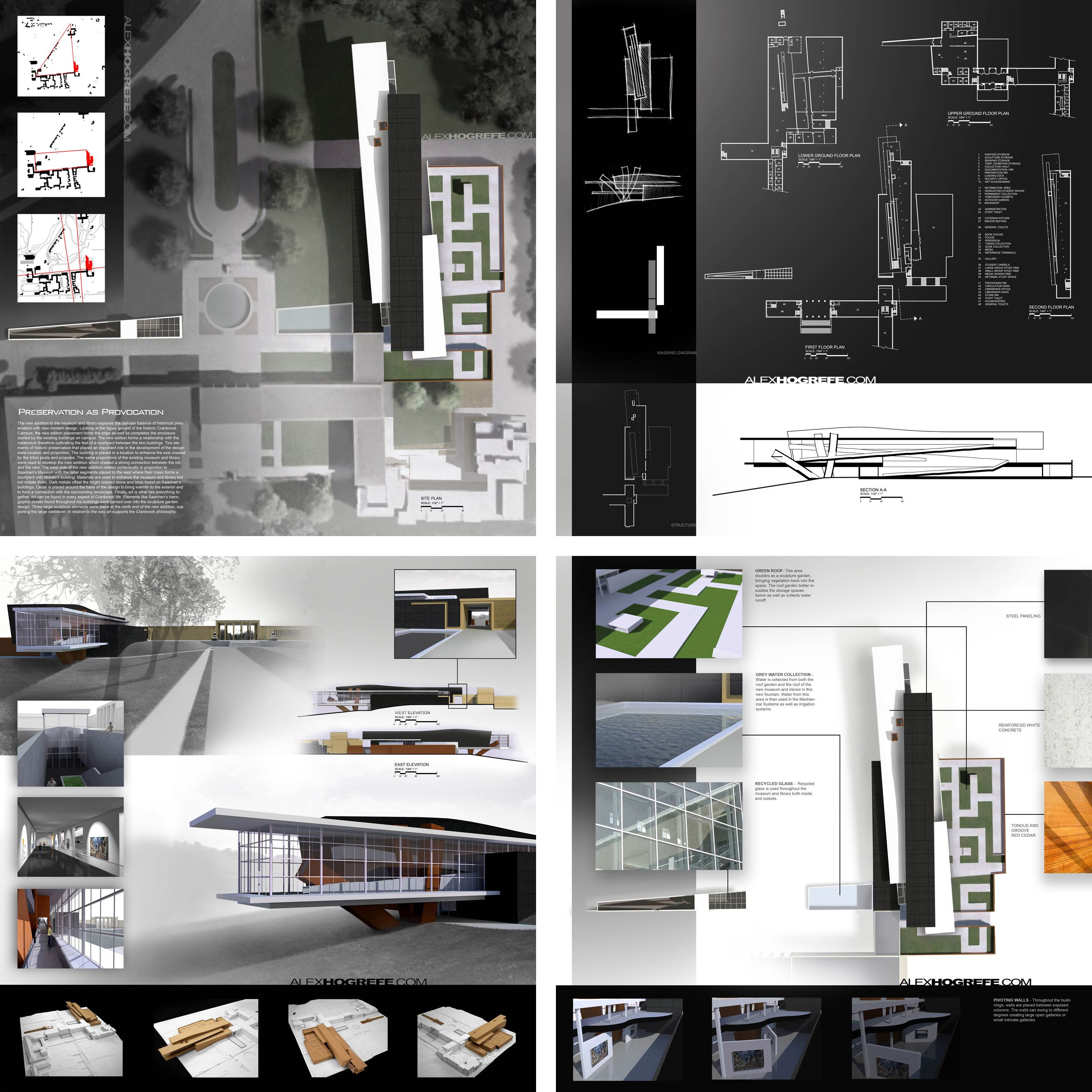 past presentation boards: part 2 | visualizing architecture, Powerpoint templates