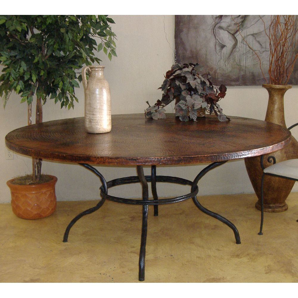 Copper Dining Room Table: Greylock Copper Dining Table By Mathews & Company