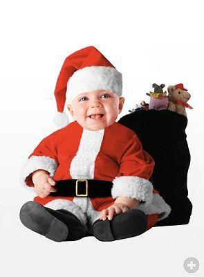 weihnachtskost m f r ihr baby weihnachtsmann santa elf. Black Bedroom Furniture Sets. Home Design Ideas