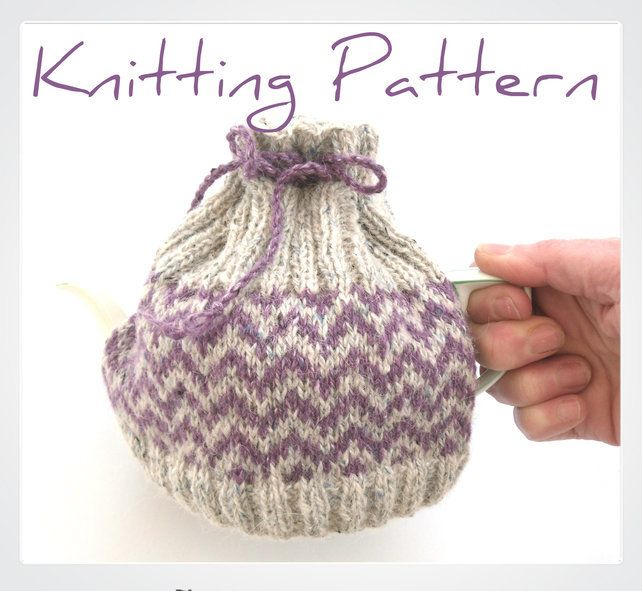 2 cup tea cosy knitting pattern | Tea cosy knitting ...