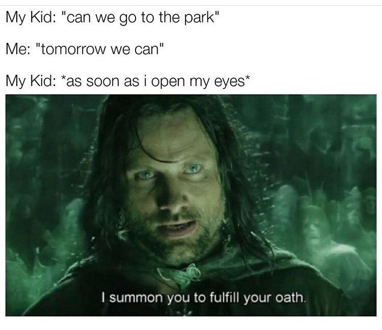 Forty Three Tolkien Related Memes For The Ultra Nerds Memes Funny Pictures Funny Memes