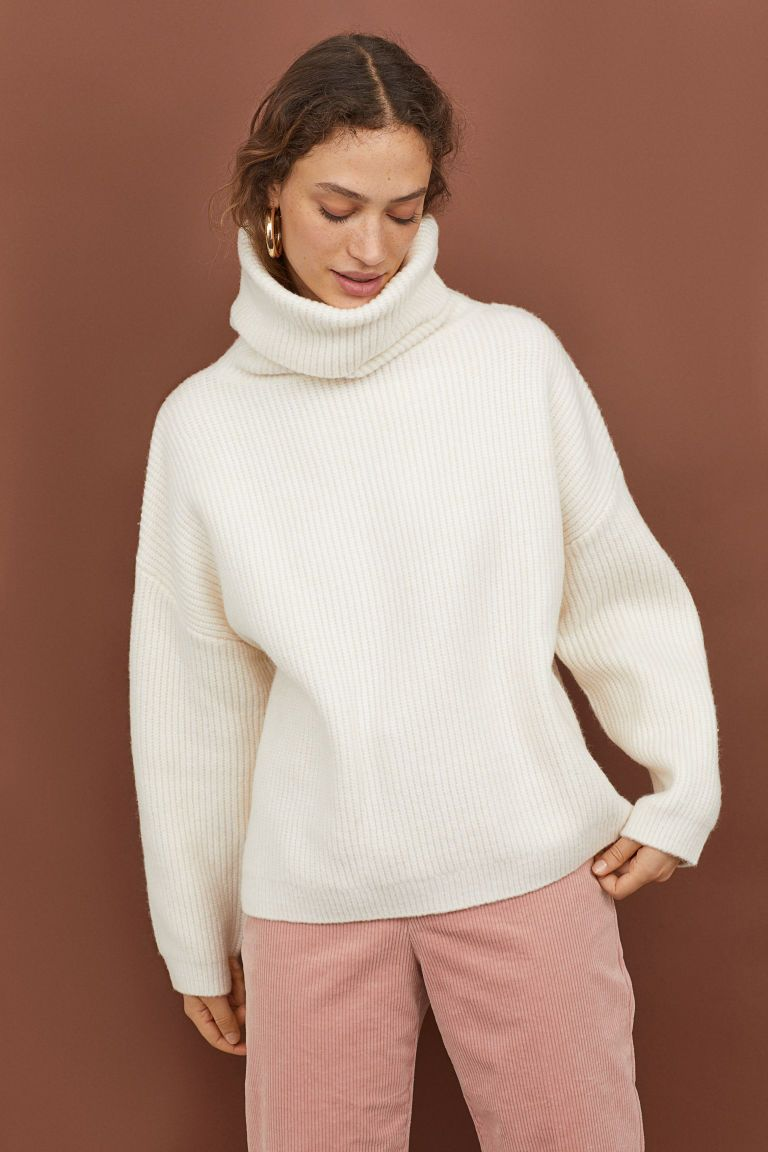 6ab226487d2 Ribbed Turtleneck Sweater in 2019 | Stitch Fix | Ribbed turtleneck ...