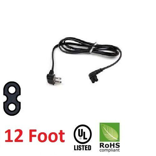 12 Foot Replacement TV Power Cord for Samsung PN