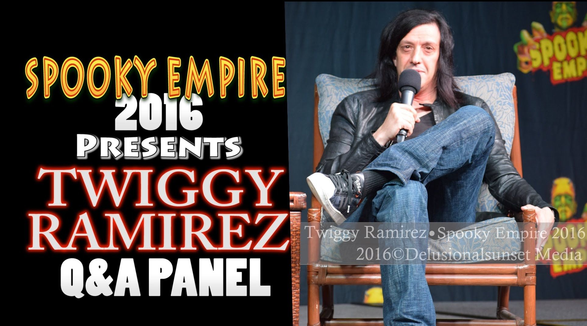 Spooky Empire 2016 ~Twiggy Ramirez (Marilyn Manson, Nine Inch Nails ...