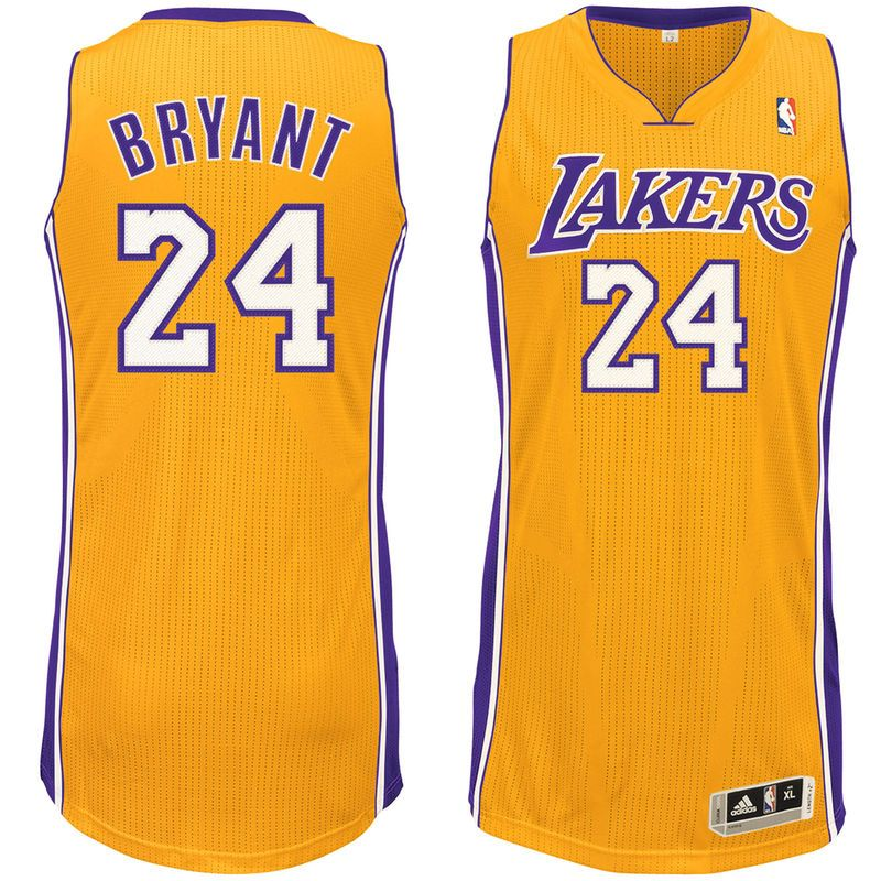 Kobe Bryant Los Angeles Lakers adidas Home Authentic
