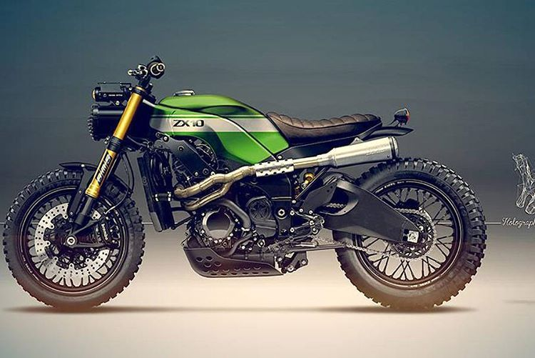 """""""ZX10 Scrambler concept. This would be one hell of a sleeper"""""""