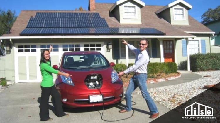 How To Set Up A Solar Powered Car Charging Station For Your Home Car Charging Stations Solar Powered Cars Solar Power